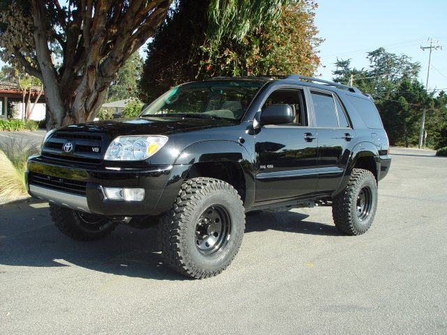 Toyota 4runner Lifted Pictures. black 03 4wd 4runner sr5 4.7L